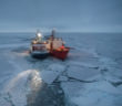 Arctic research ship