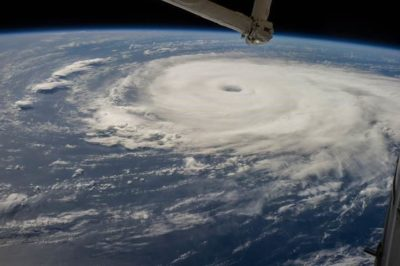 Stunning images captured by International Space Station help scientists predict cyclones