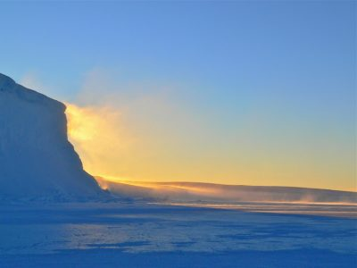 Antarctic warm front reveals influence of stratosphere in shaping weather