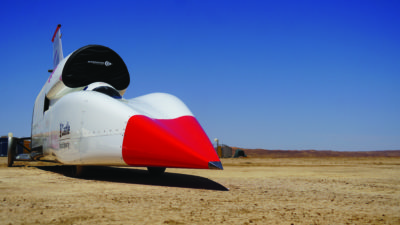 Weather stations play a crucial role in Bloodhound LSR's attempt to break the world land speed record