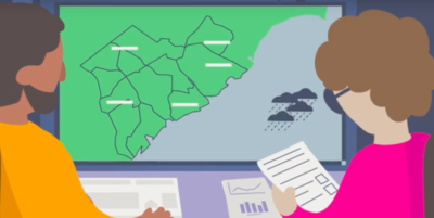 The WMO presents the Flash Flood Guidance System (FFGS) with testimonies from countries
