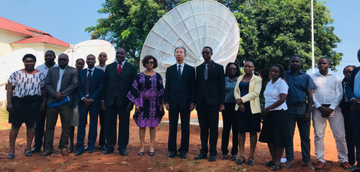 FY-2 satellite data system installed in Mozambique