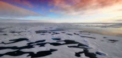 Research reveals how cracks in sea ice affect weather