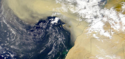 NRL tracks dust storms across the Atlantic