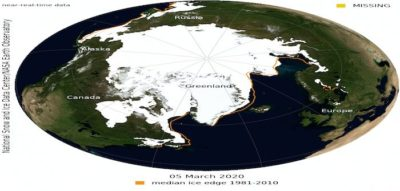 Unexceptional Arctic sea ice maximum