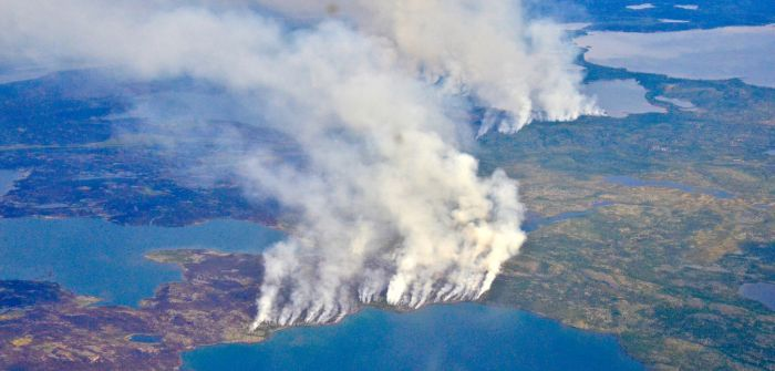 Warm spring puts Arctic at risk of 'zombie' fires