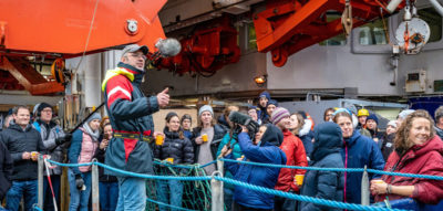 Polarstern returns to Arctic MOSAiC floe with new fieldwork team