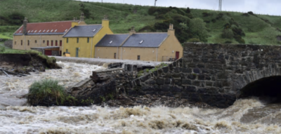 Satellite telemetry eases remote data gathering for Scottish flood warnings