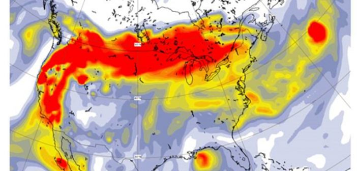 US wildfires above average intensity