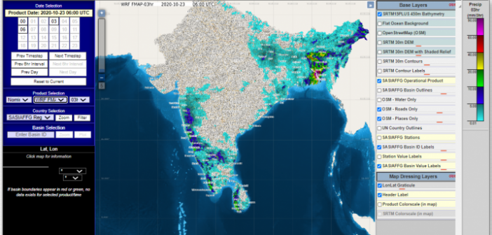 Flash flood warning system for South Asia launched