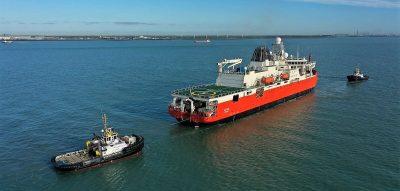 Australian Antarctic research ice-breaker commences sea trials
