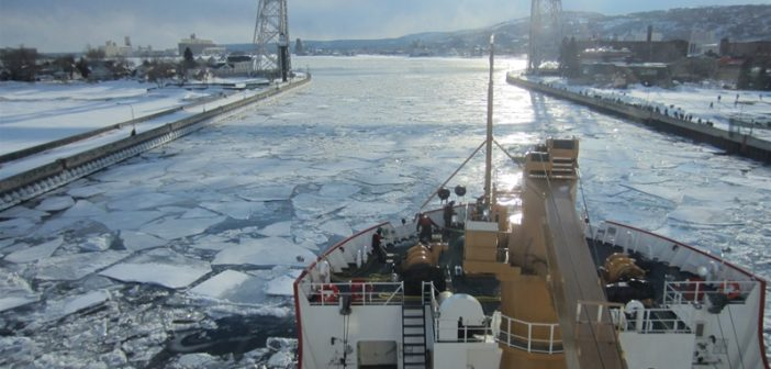 NOAA predicts 30% maximum Great Lakes ice cover for 2021 winter
