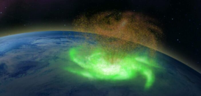 First evidence of space hurricanes in Earth's upper atmosphere