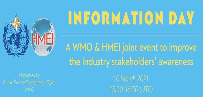 HMEI and WMO to host awareness event on governance reform