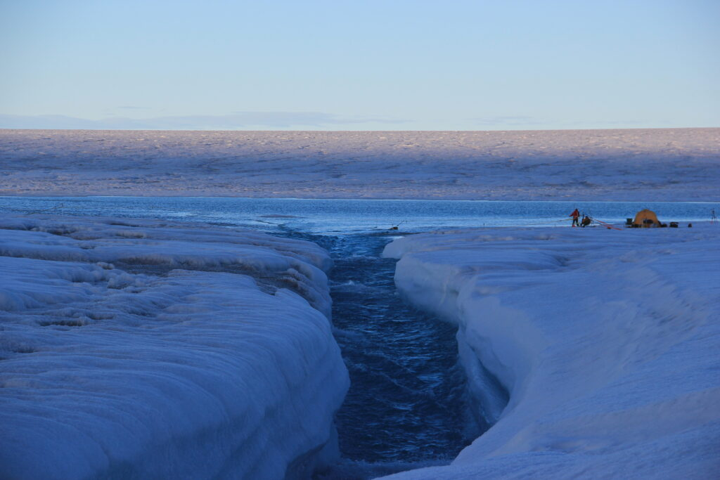 Greenland ice