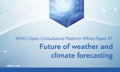 WMO releases whitepaper on the future of climate forecasting