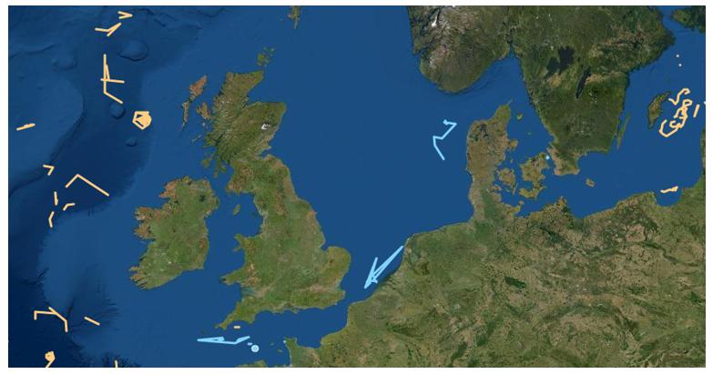 Fishing vessel data