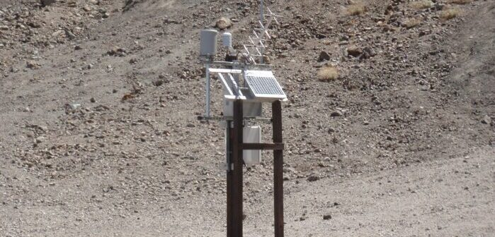 Automated weather station to capture and display Death Valley temperatures in real time