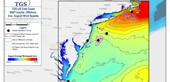 TGS and Vaisala expand East Coast weather prediction model for offshore wind farms